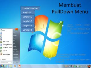 Membuat PullDown Menu