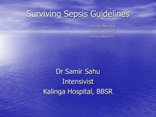surviving sepsis guidelines 2016 ppt