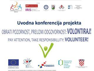 Uvodna konferencija projekta