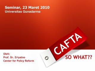 Seminar, 23 Maret 2010