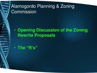 Alamogordo Planning & Zoning Commission