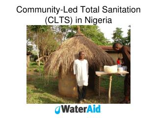 Community-Led Total Sanitation CLTS in Nigeria