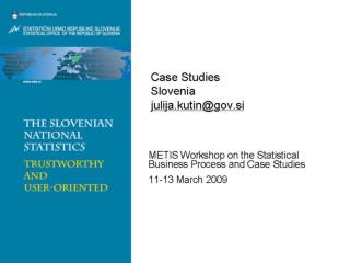 Case Studies  Slovenia