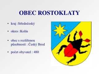 OBEC ROSTOKLATY