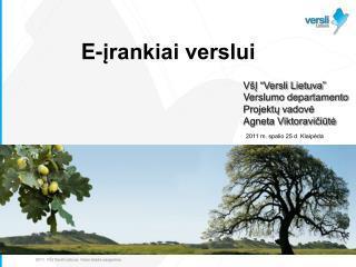 2011.  VŠĮ Versli Lietuva . Visos teisės saugomos.