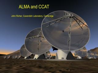 ALMA and CCAT