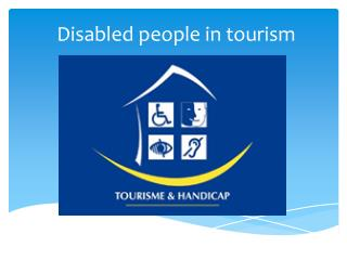 Disabled people in tourism