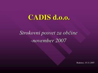 CADIS d.o.o.