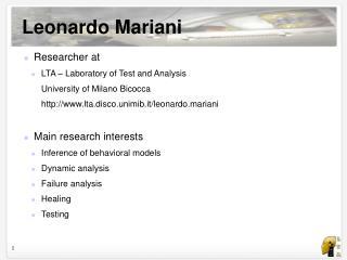 Leonardo Mariani