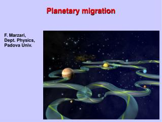 Planetary migration