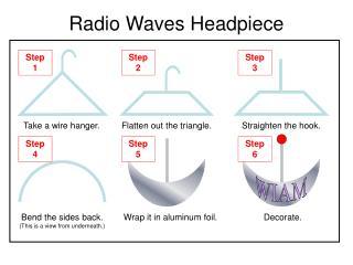 Radio Waves Headpiece