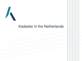 Kadaster in the Netherlands