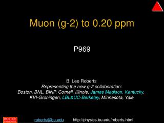 Muon (g-2) to 0.20 ppm