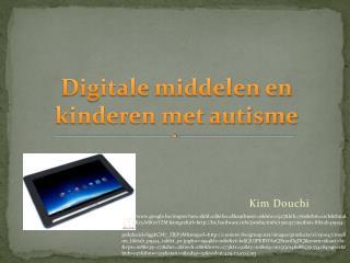 Digitale middelen en kinderen met autisme