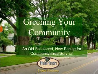 Greening Your Community