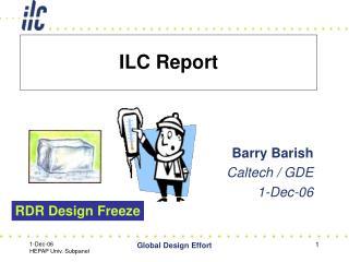 ILC Report