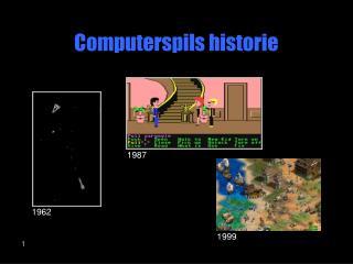 Computerspils historie