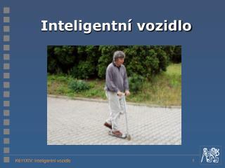 Inteligentní vozidlo