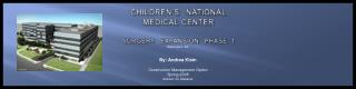 Children's   national   medical center surgery   expansion   phase  1