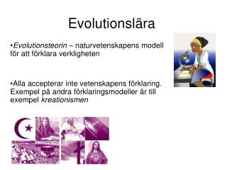 Evolutionslära