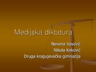 Medijska  diktatura