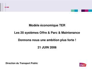 Direction du Transport Public