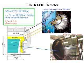The  KLOE  Detector