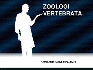 ZOOLOGI VERTEBRATA