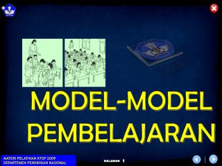 MODEL-MODEL PEMBELAJARAN