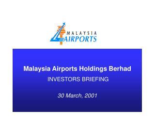 Malaysia Airports Holdings Berhad