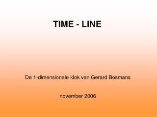TIME - LINE
