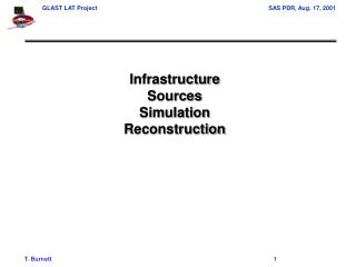 Infrastructure Sources Simulation Reconstruction