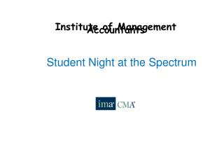 Institute of Management Accountants