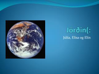 Jörðin(: