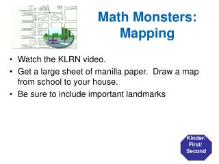 Math Monsters: Mapping