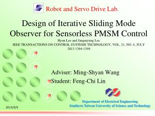 Adviser:  Ming-Shyan Wang Student: Feng-Chi Lin
