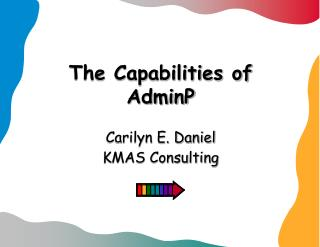 The Capabilities of AdminP