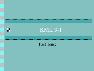 KMII 3-1