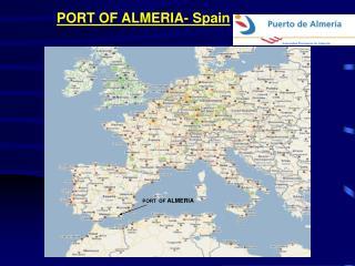PORT OF ALMERIA- Spain