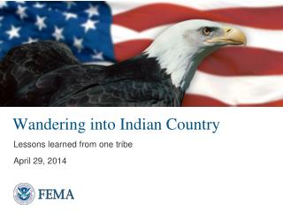 Wandering into Indian Country