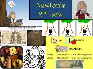 Newton�s  2 nd  Law