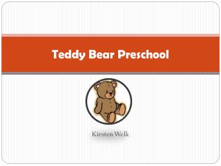 Teddy Bear Preschool