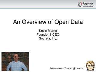 An Overview of Open Data
