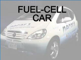 FUEL-CELL CAR