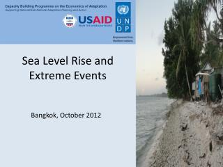 Sea Level Rise and Extreme Events
