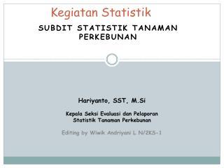 Kegiatan Statistik