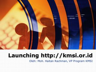 Launching kmsi.or.id