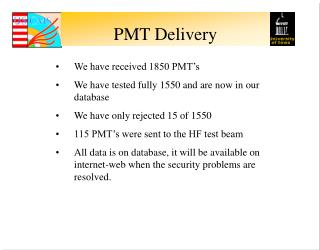PMT Delivery