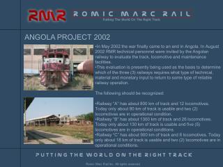 ANGOLA PROJECT 2002