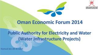 Public Authority for Electricity and Water (Water  Infrastructure  Projects)